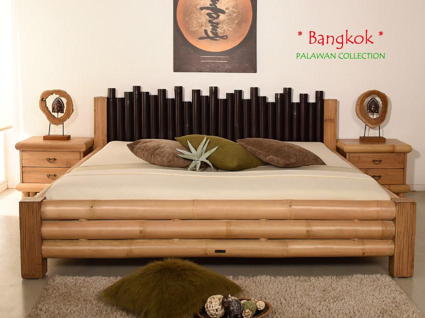bambusbett 180x200 bangkok natur doppelbett bettgestell holzbett bett design neu ebay. Black Bedroom Furniture Sets. Home Design Ideas