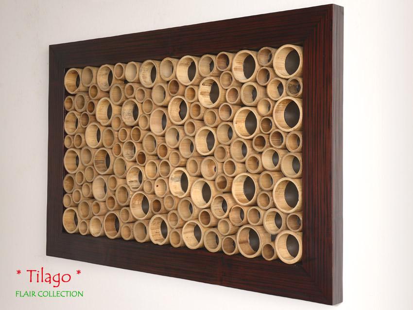 Bambus wandbild tilago dream wanddeko wandverkleidung bild - Wanddeko bambus ...
