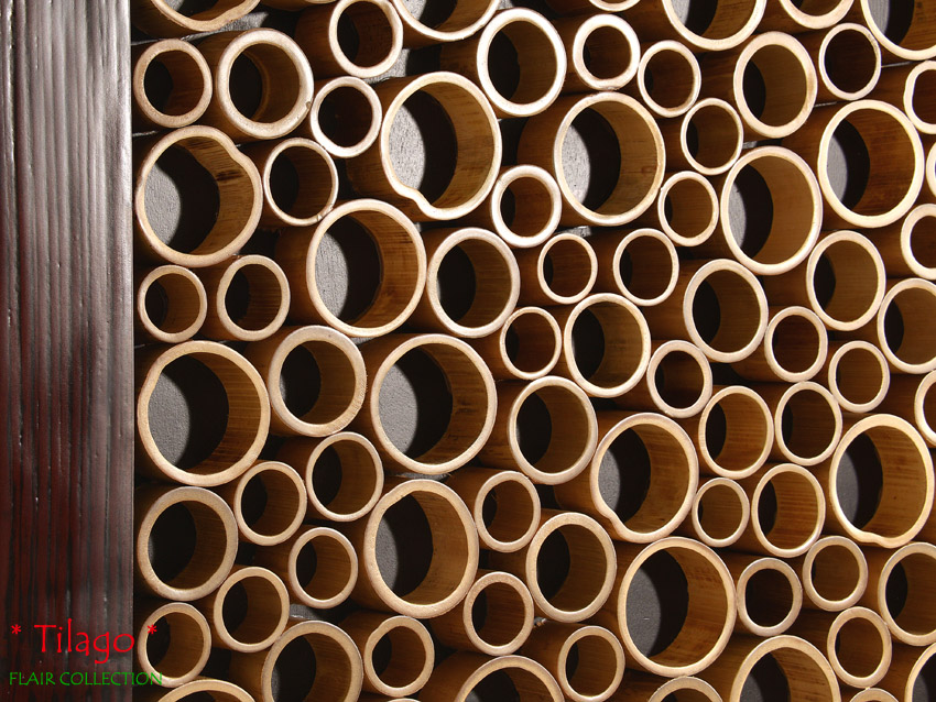 Bambus wandbild tilago dream wanddeko wandverkleidung bild leinwand deko holz ebay - Wanddeko bambus ...