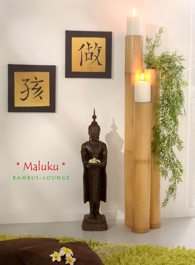 Kerzenhalter Aus Bambus Pflanzenhalter Kerzenstander Kerzen Leuchter