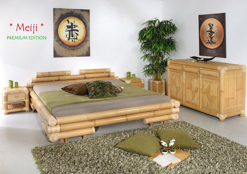 bambus kommode bogor rattan bambusschrank sideboard. Black Bedroom Furniture Sets. Home Design Ideas