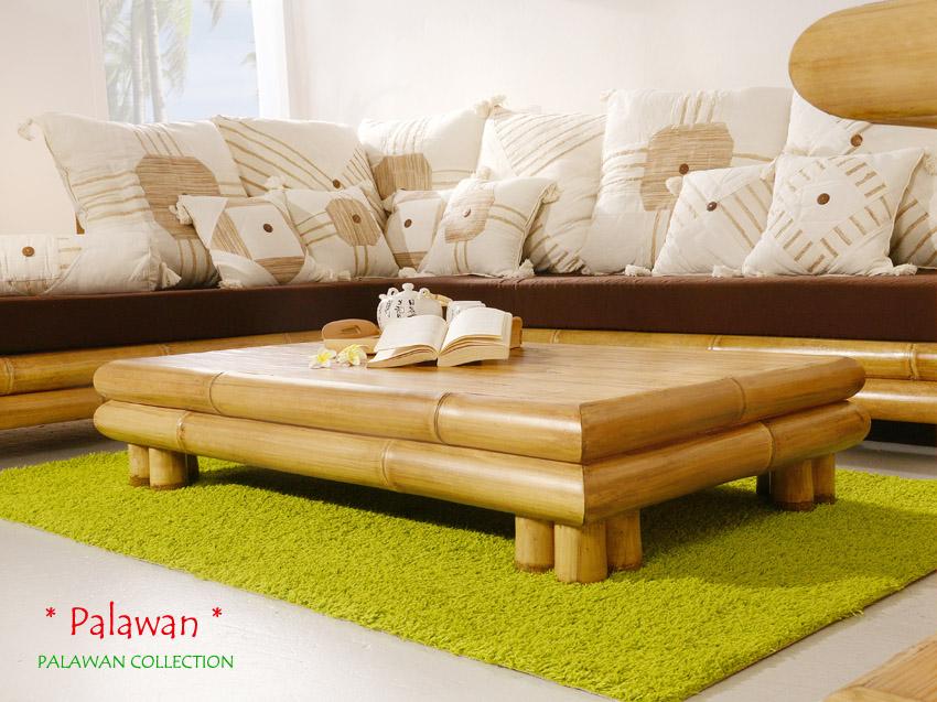 Bambus sofa palawan links sitzgarnitur ecksofa couch for Sofa asiatisch