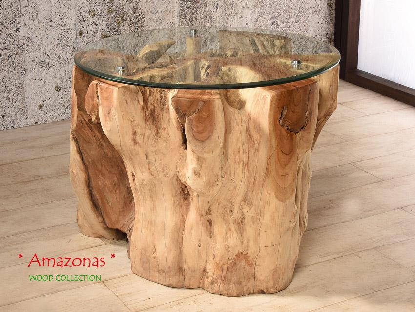 teak wurzelholz tisch 70x70 couchtisch wohnzimmertisch. Black Bedroom Furniture Sets. Home Design Ideas