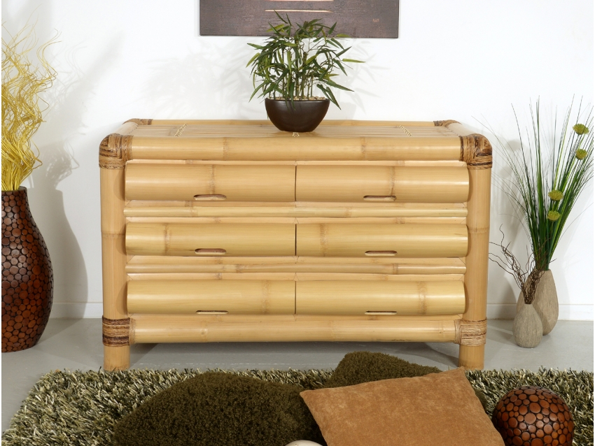 BURMA Kommode - Bambus Sideboard | ABACA COLLECTION