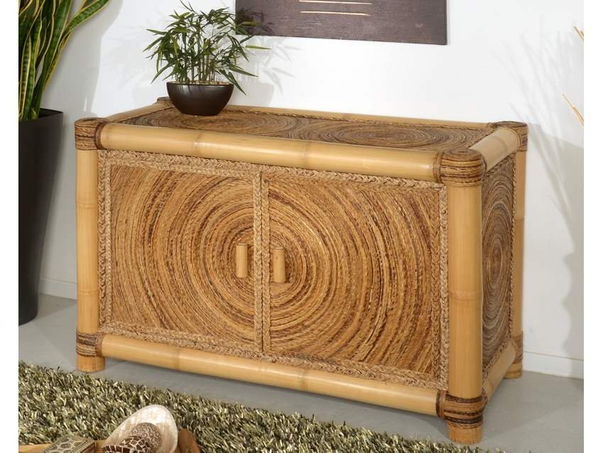 LAOS Kommode - Bambus Sideboard | ABACA COLLECTION