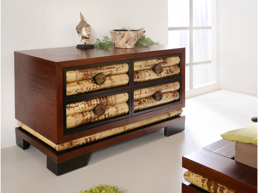 ECO Sideboard mit 4 Schubladen Klein | ECO COLLECTION