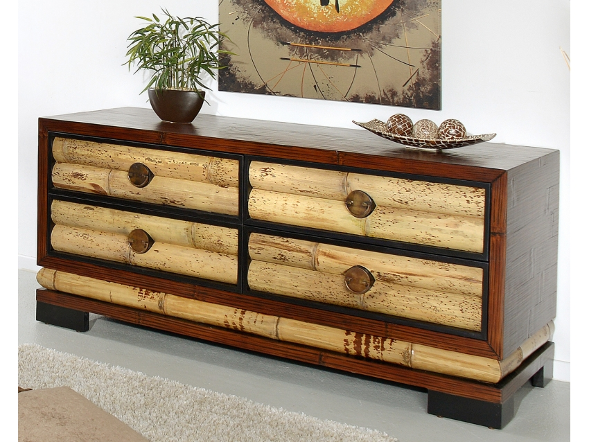 ECO Sideboard mit 4 Schubladen Groß | ECO COLLECTION