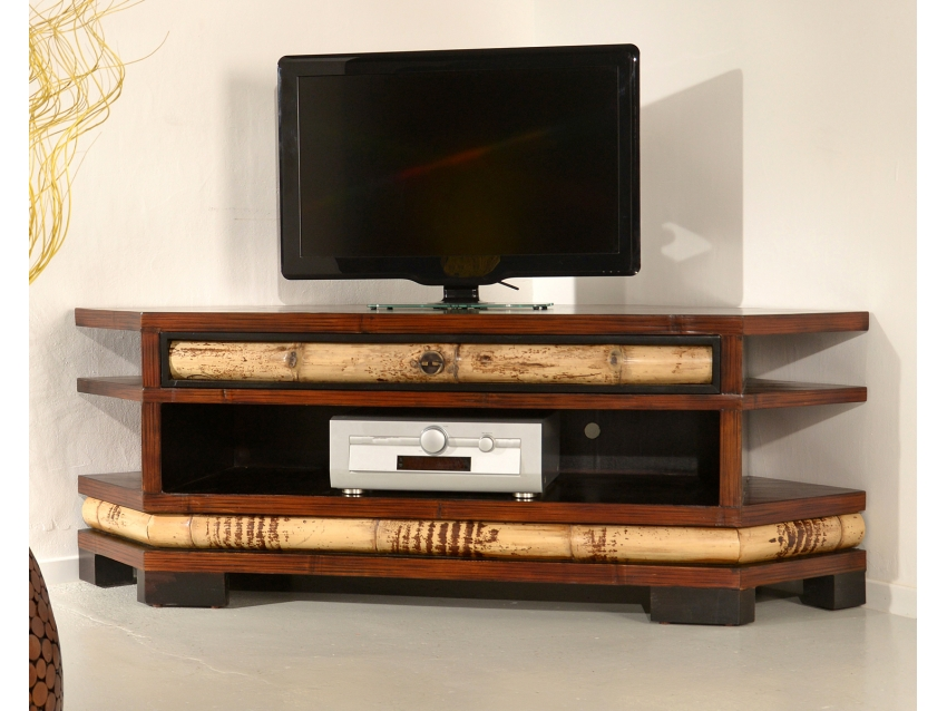 ECO TV-Eck-Kommode - TV Eck Regal - TV Rack | ECO COLLECTION