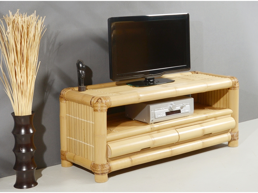 RIMBA TV-Kommode - TV-Regal aus Bambus | ABACA COLLECTION