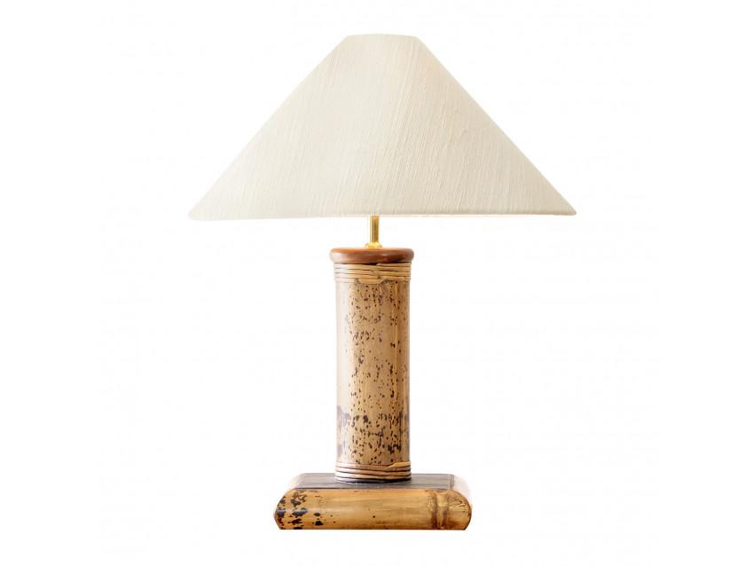 Misool Bambus Lampe Dekorlampe Tischlampe Misool Collection