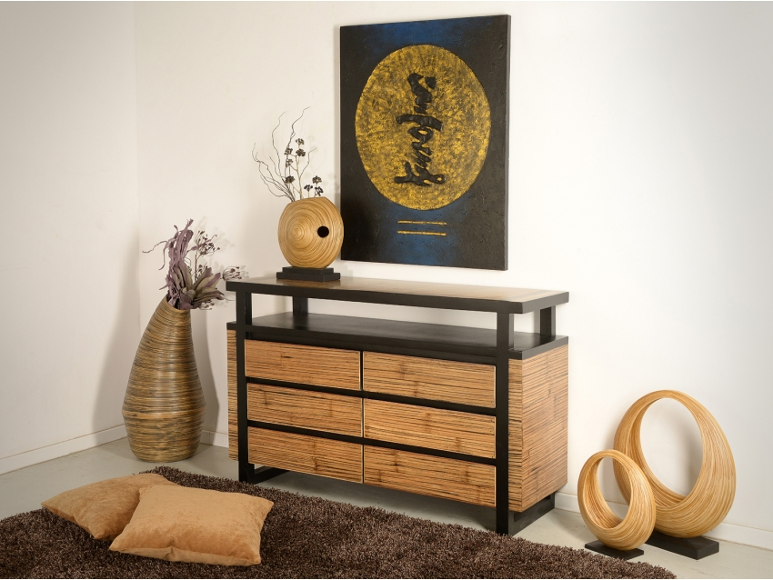 MING Sideboard mit 6 Schubladen | MING COLLECTION