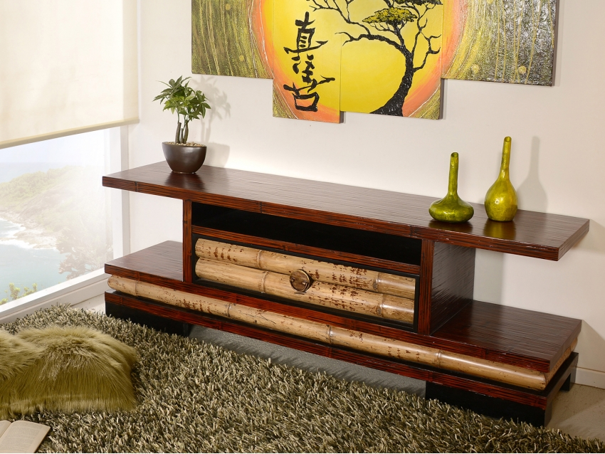 ECO TV-Kommode - TV Regal - TV Rack - Groß | ECO COLLECTION