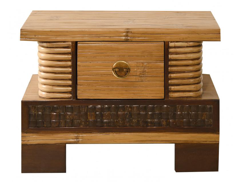shiva nachtkonsole mit 1 schublade palawan collection