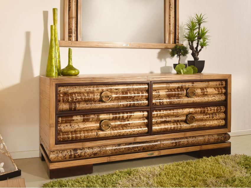 ECO Sideboard mit 4 Schubladen Klein | PALAWAN COLLECTION