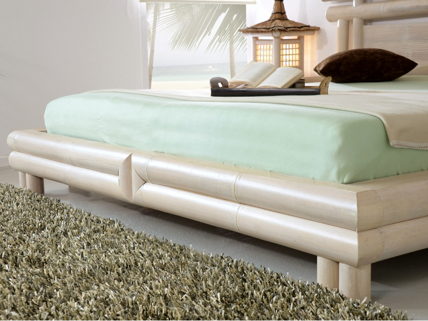 RAYA-4 Bambusbett | PEARL COLLECTION