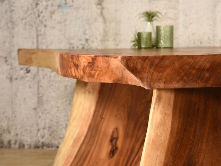 Esstisch Aus Baumstamm Massiv Bambus Lounge De 1 900 00