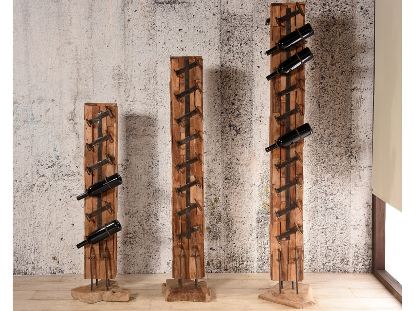 Turbo Weinhalter & Weinregal aus Holz | bambus-lounge.de, 179,00 € SW34