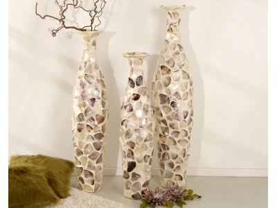 COCOA Vase aus Capiz Muscheln | SHELL COLLECTION
