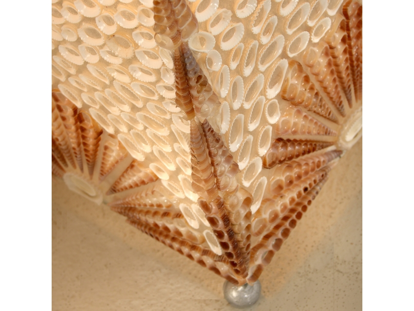 BANDOS Stehlampe mit Muscheln | SHELL COLLECTION