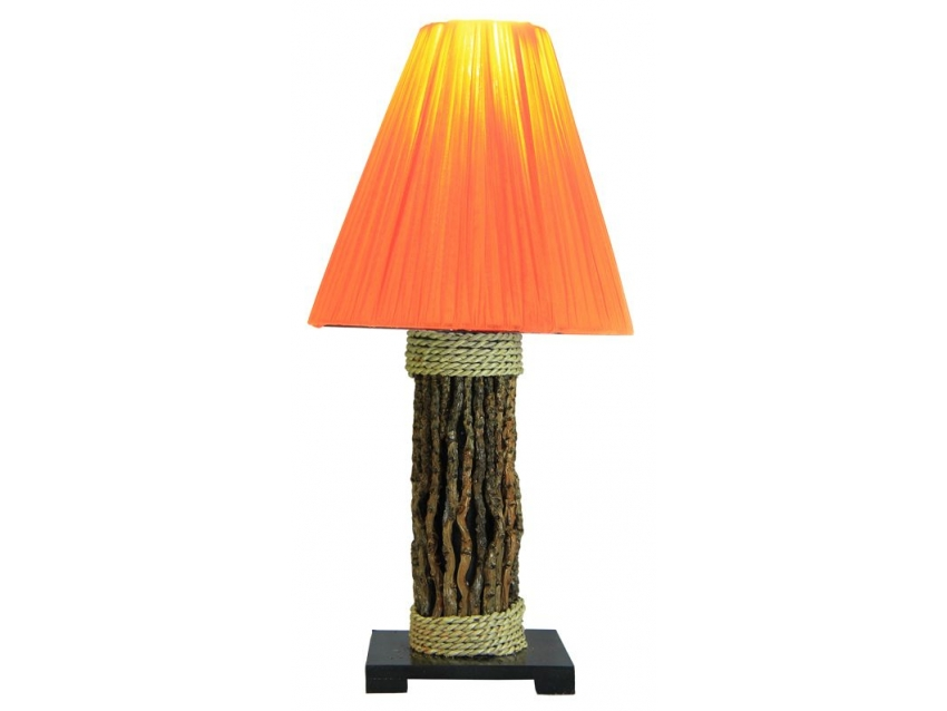 TARA Lampe - Höhe 45 cm - orange | FLAIR COLLECTION