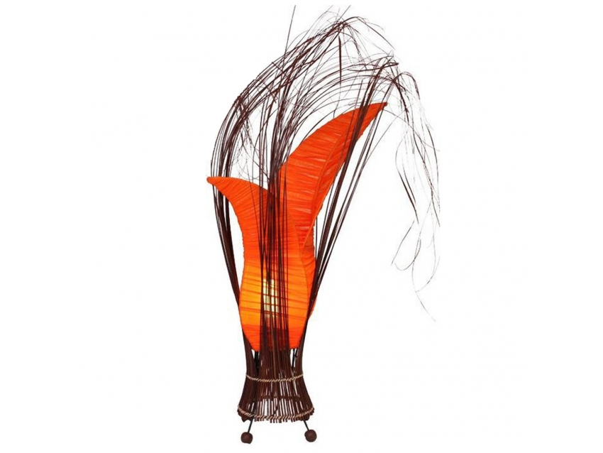 BUNGA Lampe - Farbe Orange - Höhe 50 cm | FLAIR COLLECTION